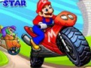 Cursa de motociclete cu Mario
