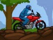 Joc curse de motociclete in padure