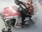 Cursa in iarna cu snowmobilul